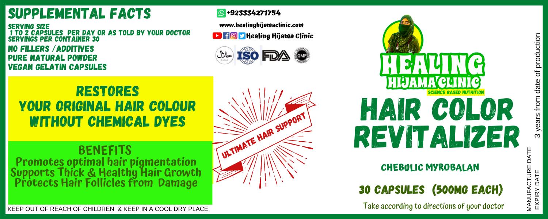 HAIR COLOR REVITALIZER 1 gm capsules