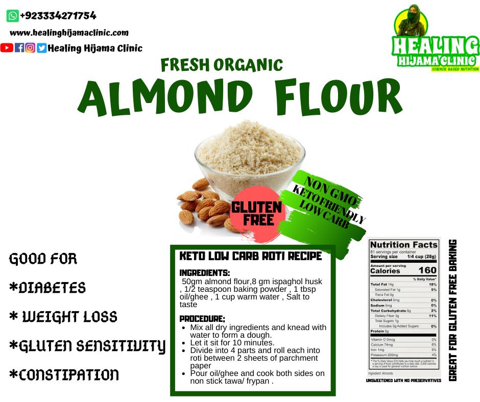 ALMOND FLOUR 500 mg