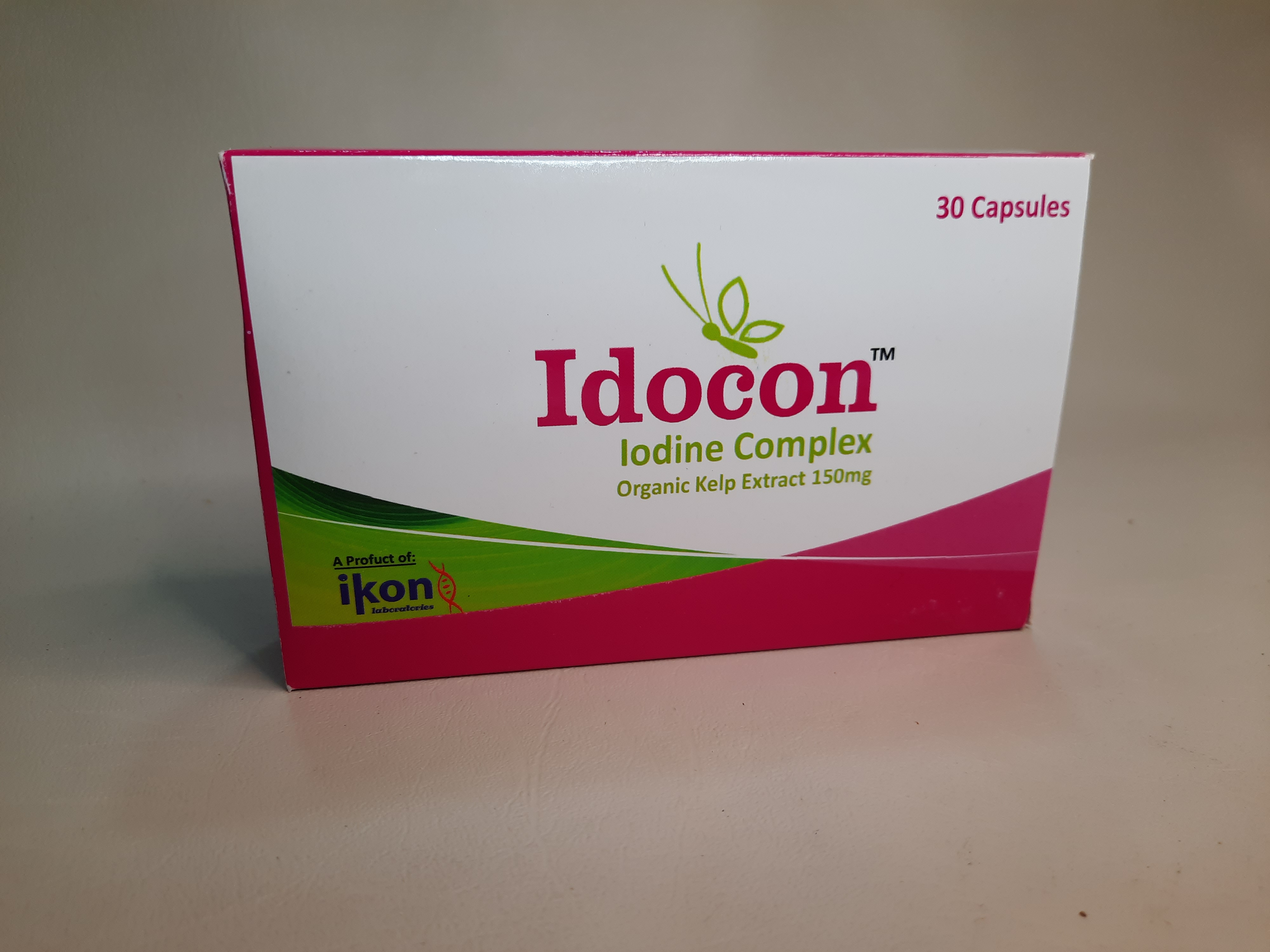 IODOCON (ELEMENTAL IODINE SUPPLEMENT 50MG)  1 pack (30capsules)