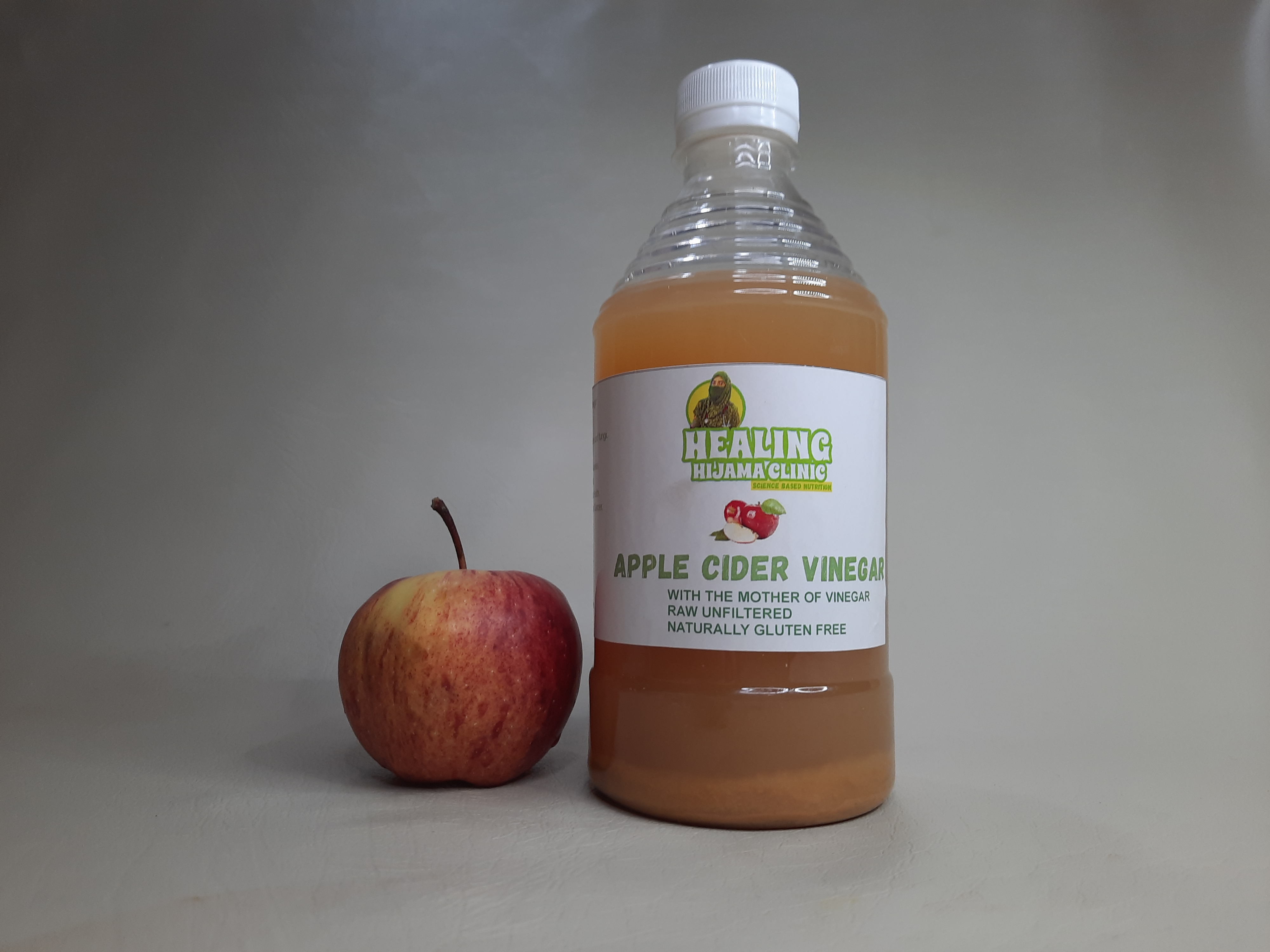 HOME MADE APPLE CIDER VINEGAR WITH MOTHER 500 ml