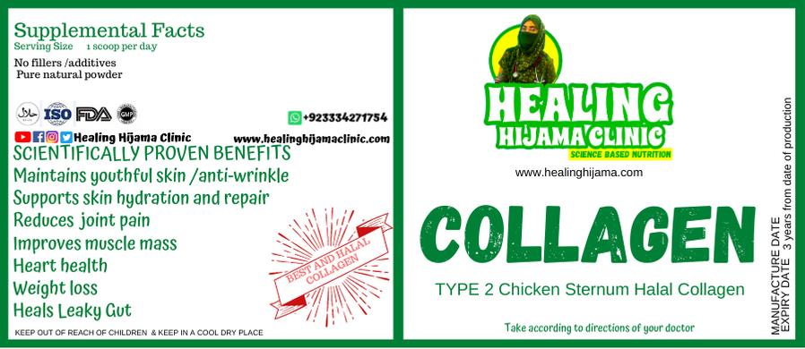 COLLAGEN POWDER 100 gm Halal Chicken Sternum Type2
