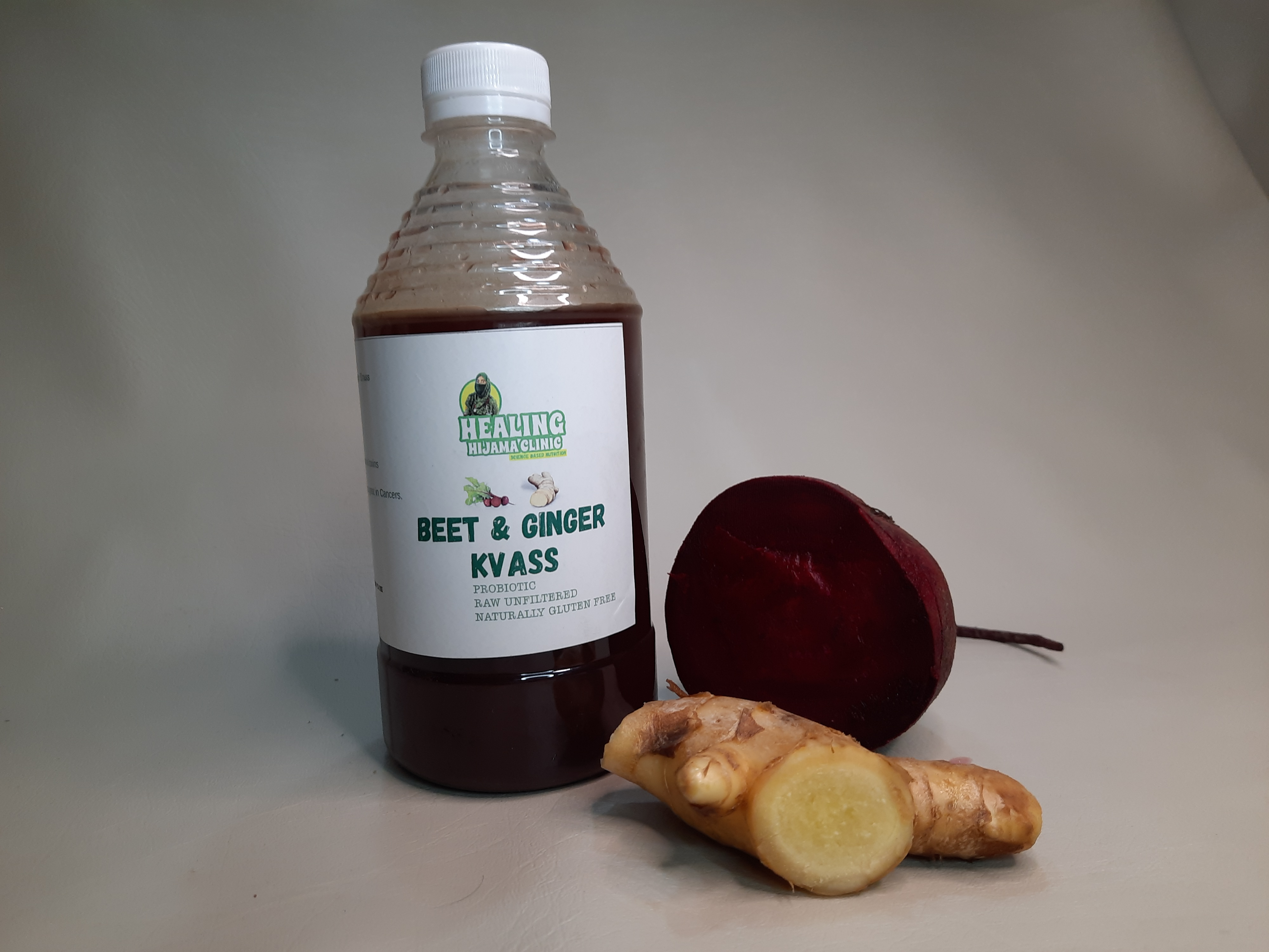 BEET GINGER KVASS 500 ml