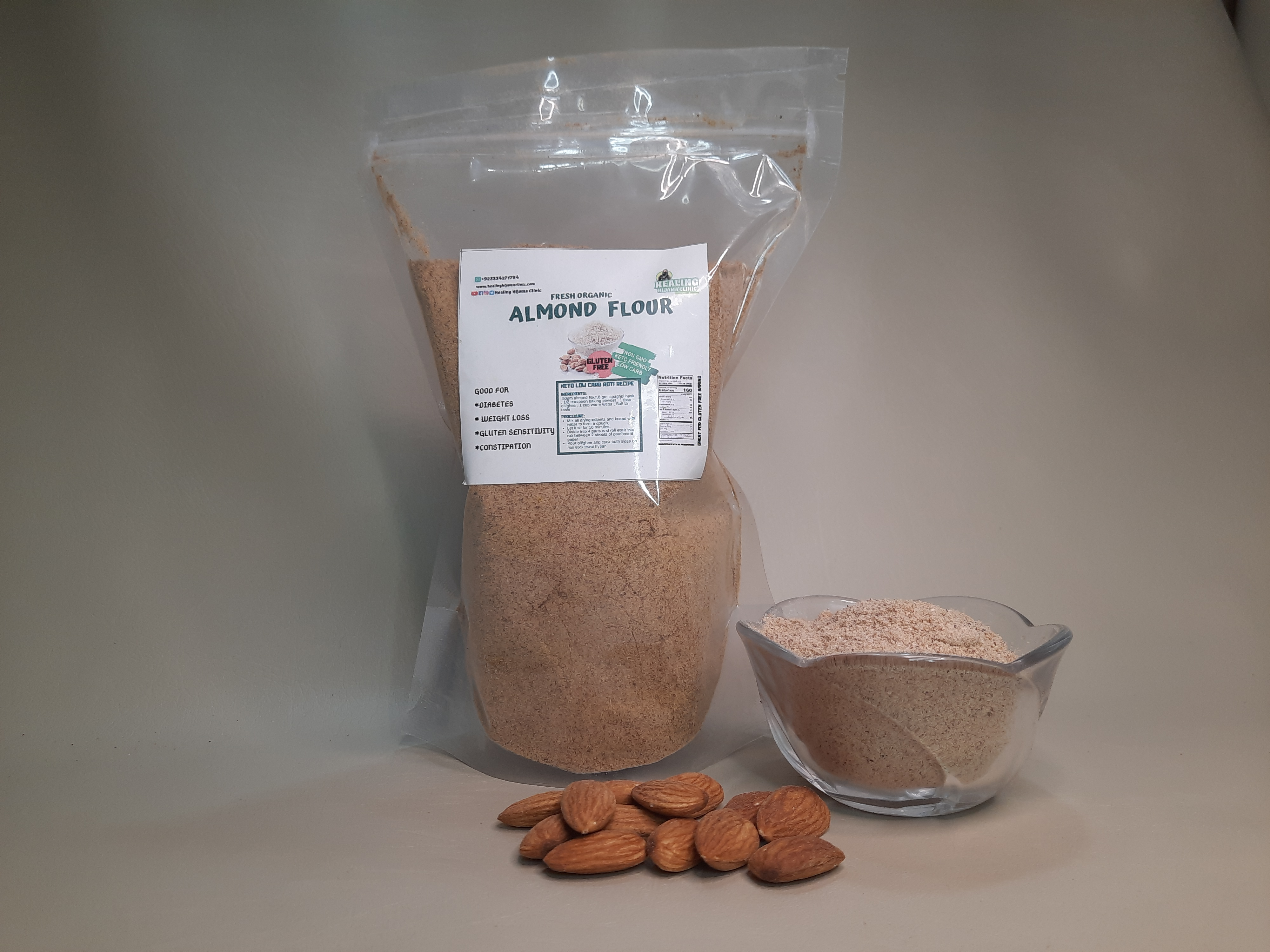 ALMOND FLOUR 500 mg