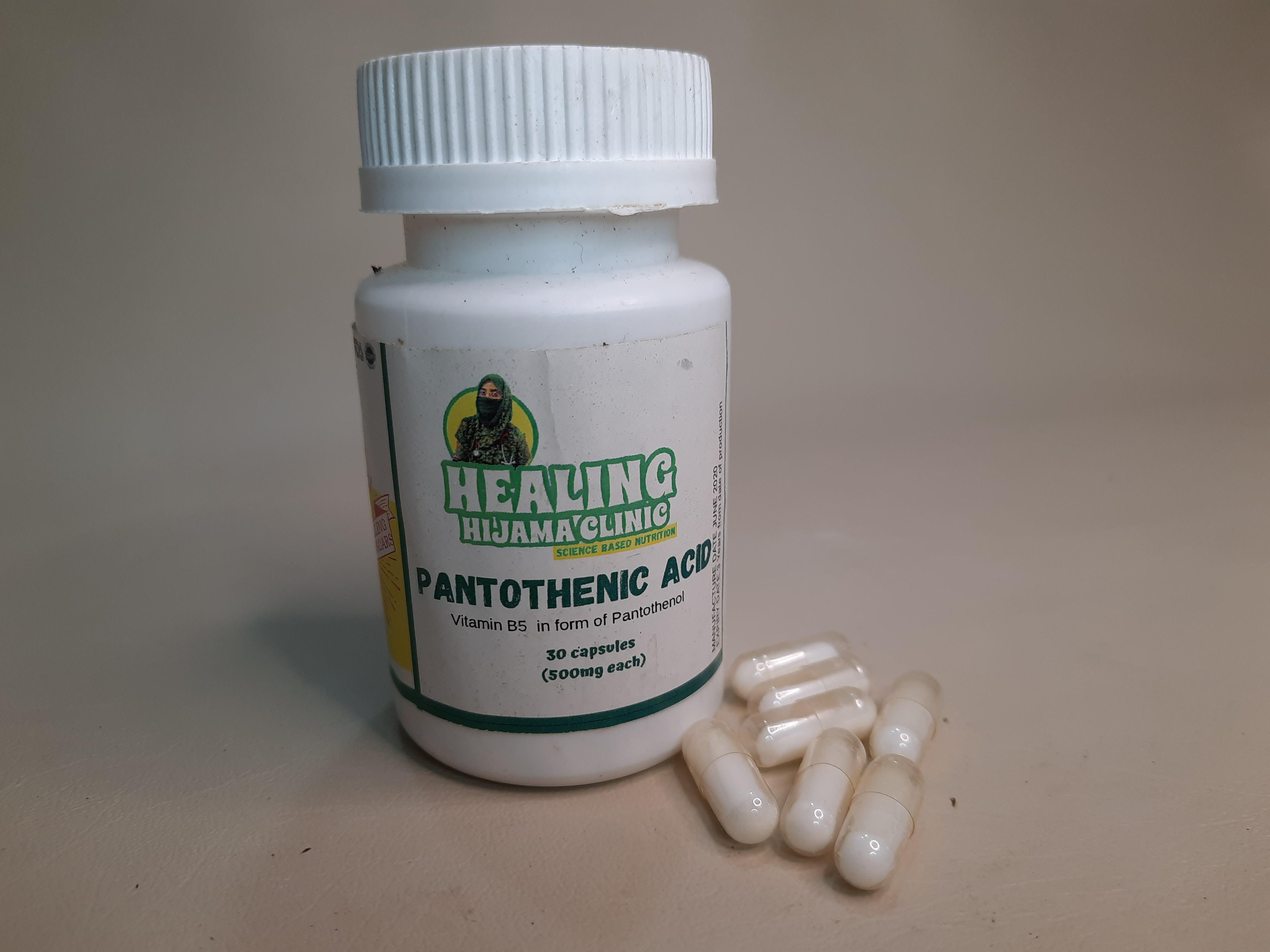 PANTOTHENIC ACID (VITAMIN B5)