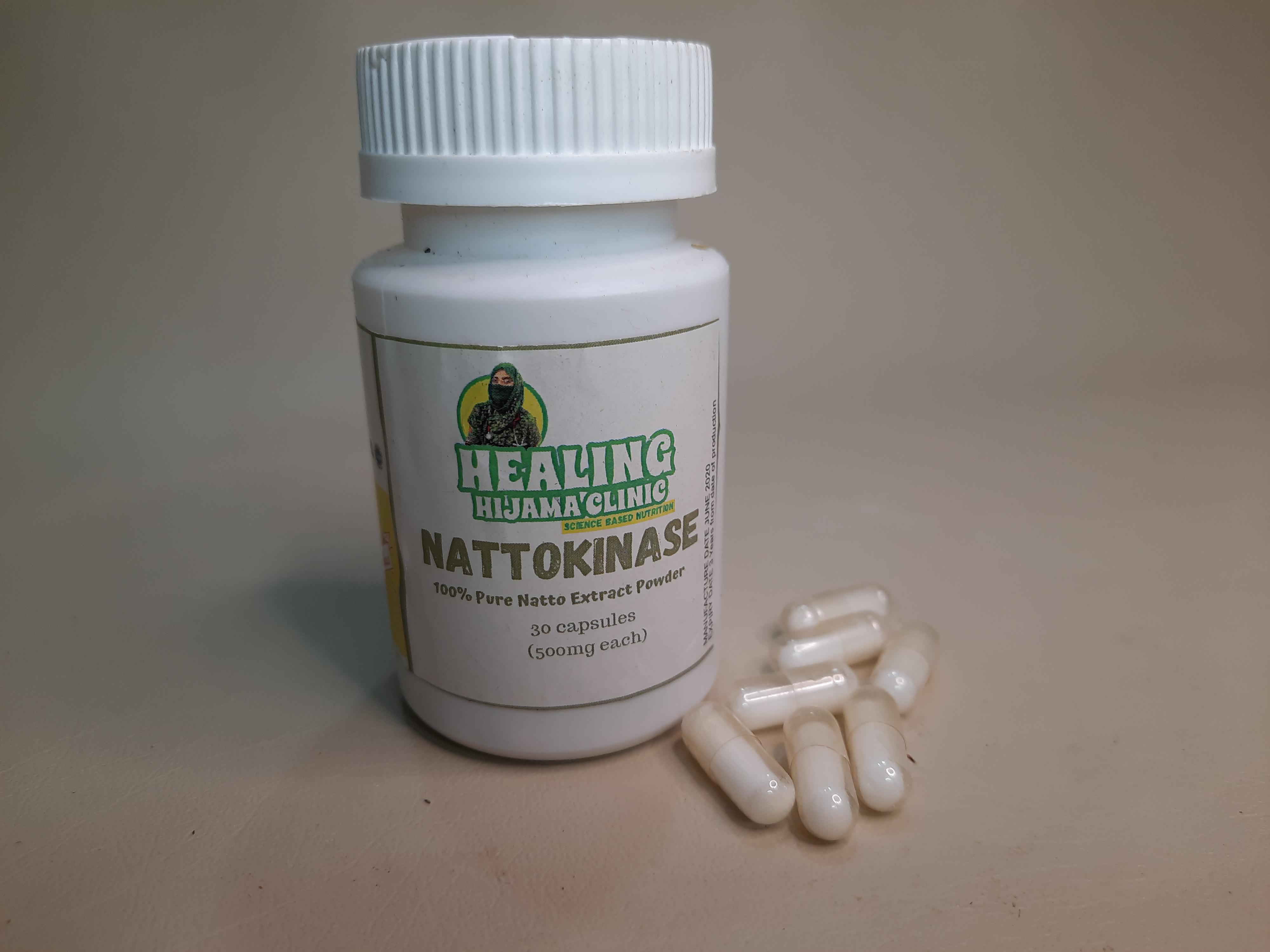 NATTO CAPSULES 6000 FU (300 mg)