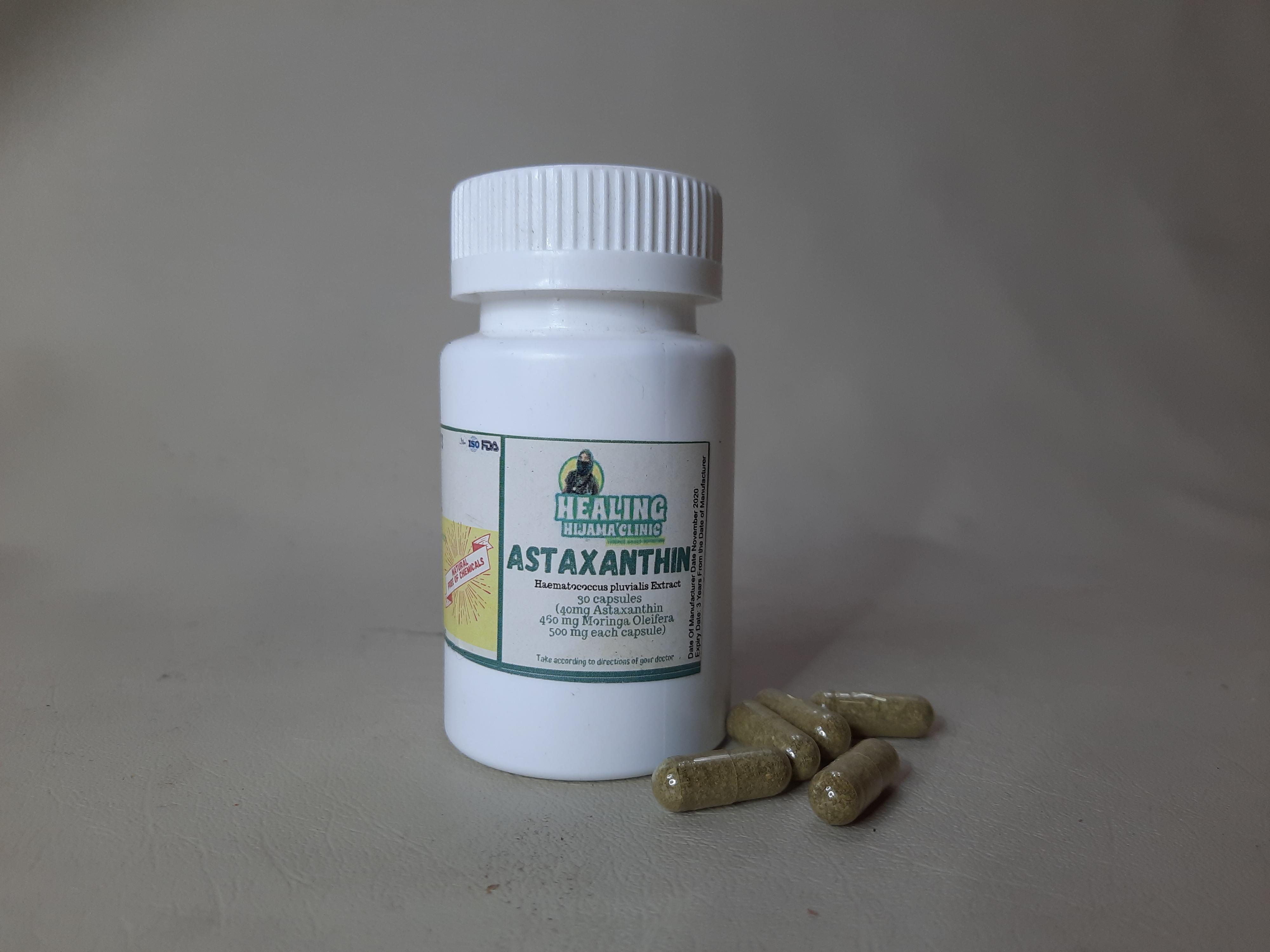 ASTAXANTHIN 40 mg with moringa 460mg