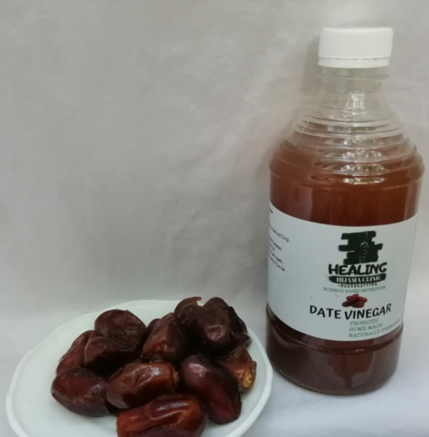 HOME MADE DATE VINEGAR WITH MOTHER